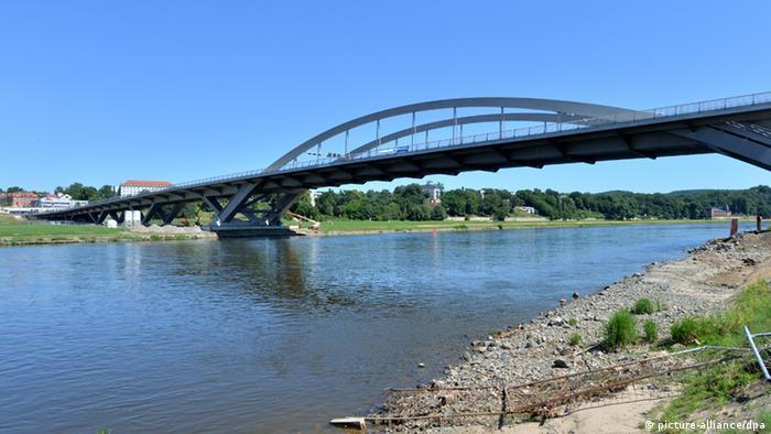 The Waldschlösschenbrücke in Dresden, Copyright: Hendrik Schmidt