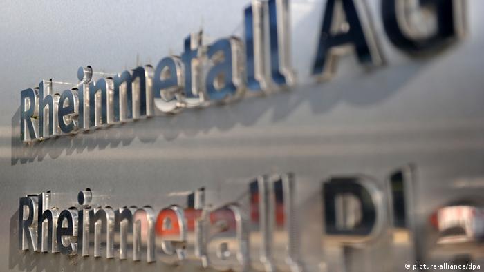 Логотип концерна Rheinmetall