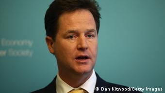 Großbritanniens Vizepremierminister Nick Clegg