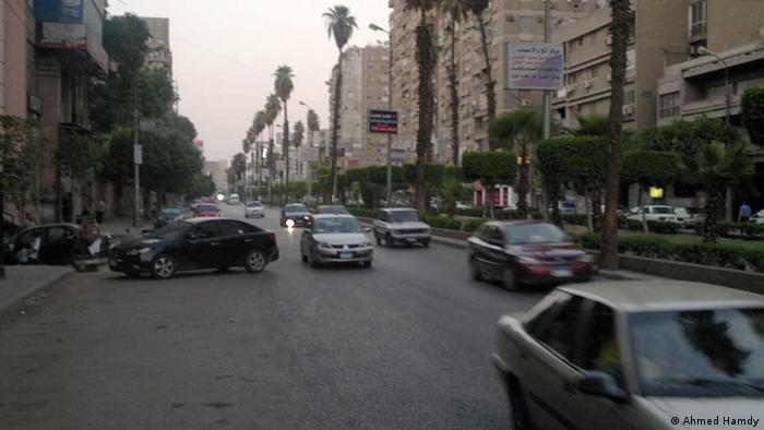 Cairo fifteen minutes after the start of curfew. Place: Al Khalifa Al Ma'mon Street Copyright: Ahmed Hamdy