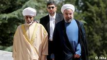 Qabus ibn Said Iran Hasan Rohani