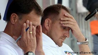 No hope for Braunschweig coach Torsten Lieberknecht distraught