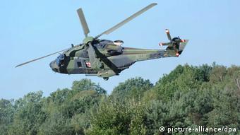 Ein Sanitätshubschrauber vom Typ NH90 (Foto: picture-alliance/dpa)