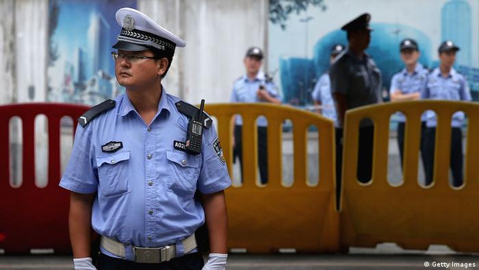 朋友相信官方逮捕曹顺利是因为曹参与了人权人士从6月起在外交部门前开展的静坐示威活动