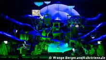 Szenenbild aus der Aufführung der Komposition Delusion of the fury von Harry Partch Foto: Wonge Bergmann für Ruhrtriennale