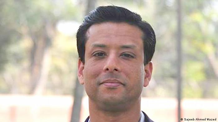 Sajeeb Ahmed Wazed, also known as Sajeeb Wazed, is an IT professional who was selected by World Economic Forum as one of the 250 Young Global Leaders of the World. He is the son of Sheikh Hasina Wazed, the current Prime Minister of Bangladesh and the grandson of Sheikh Mujibur Rahman, the first President of Bangladesh. Pressefoto; Quelle: https://www.facebook.com/photo.php?fbid=310577169078713&set=a.310577162412047.1073741825.310576809078749 ACHTUNG: NIEDRIGE BILDQUALITÄT, MÖGLICHST NICHT ALS ARTIKELBILD VERWENDEN, SONDERN NUR IM TEXT