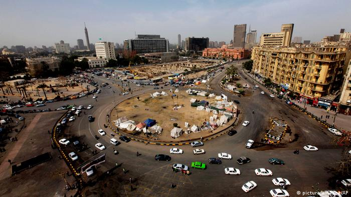 Tahrir Square in Cairo, Copyright: picture alliance/AP