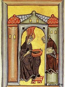 Миниатюра из Рупертсбергского кодекса
