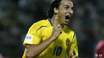 WM 2006 Qualifikation, Zlatan Ibrahimovic