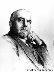 Historical photo of Ernst Landrock, co-founder of the Cairo bookshop Lehnert & Landrock, Copyright: Lehnert & Landrock
