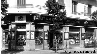 A livraria Lehnert & Landrock, no Cairo