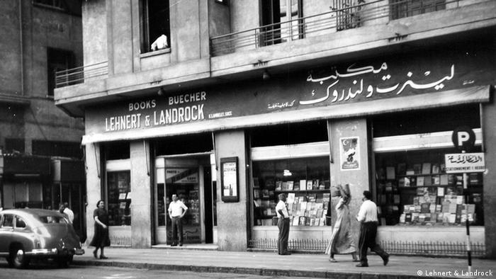 Bilder des Buchladens Lehnert & Landrock in Kairo, sowie die Gründer Rudolf Lehnert und Ernst Landrock. zugeliefert von: Philipp Jedicke via Lehnert & Landrock copyright: Lehnert & Landrock