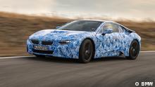 1) BMW i8 Predrive 2013 Prototype (c) BMW Nur für redaktionelle Zwecke.