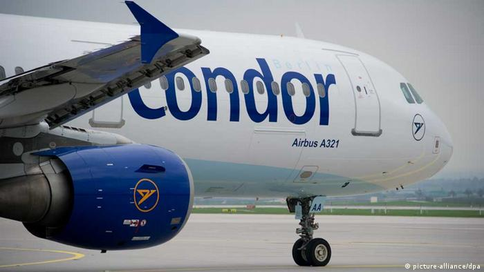 A Condor airplane