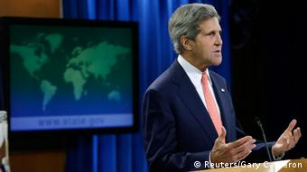 United States Secretary of State John Kerry REUTERS/Gary Cameron (UNITED STATES - Tags: POLITICS)
