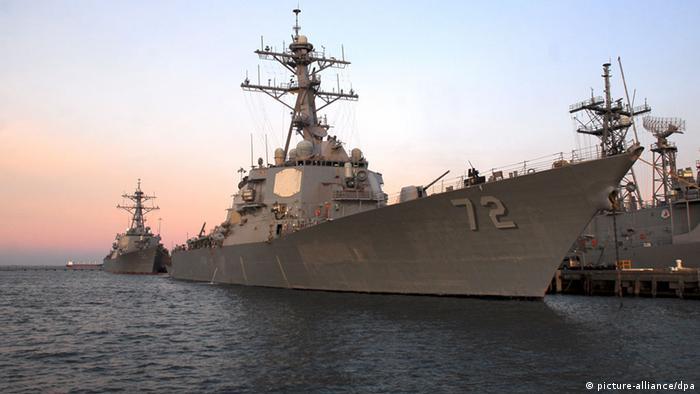SYMBOLBILD USA verstärken Marine-Präsenz vor syrischer Küste (picture-alliance/dpa)