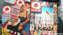 Illustrierte Quick wird eingestellt
