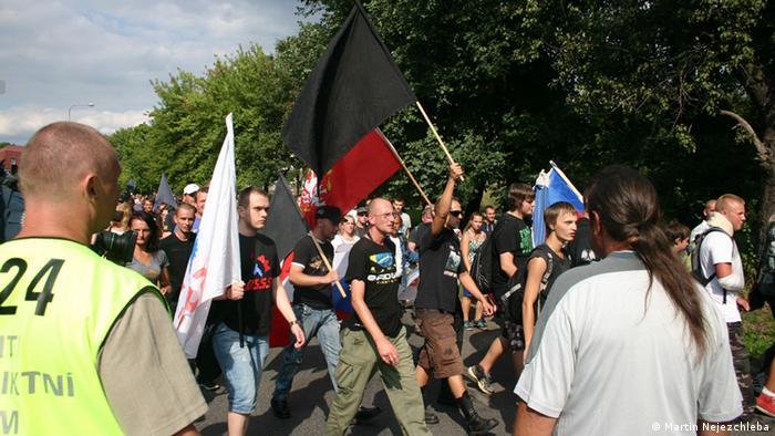 Антиромски марш в Чехия