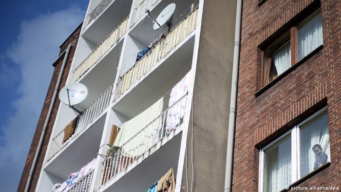 Casa locuită de romi din România și Bulgaria din orașul Duisburg (picture alliance/dpa)