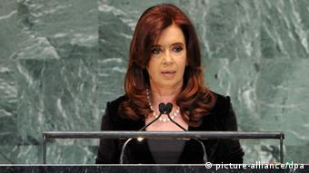 Cristina Fernandez de Kirchner Argentinien Präsidentin
