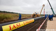 Rumänien Moldawien Energie Pipeline Iashi Ungheni eröffnet