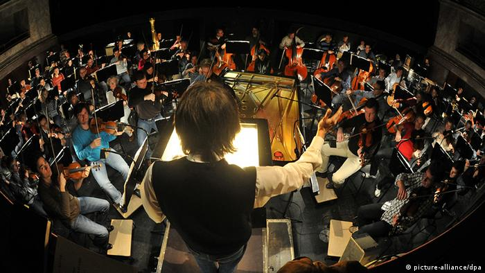 The Bavarian State Órchestra (Photo: Felix Hörhager dpa)