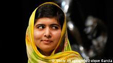 Die pakistianische Kinderrechtsaktivistin Malala Yousafzai