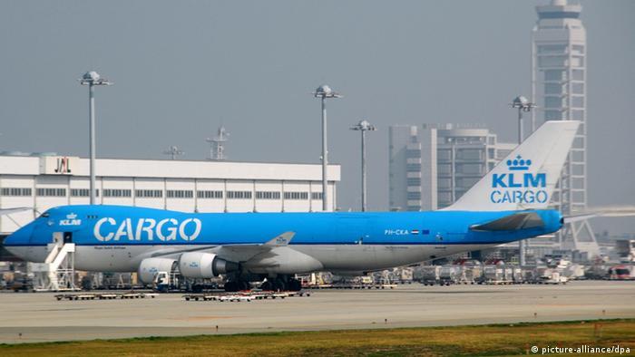 Frachtmaschine der KLM Cargo