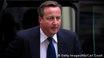 Britischer Premierminister David Cameron (Foto: Carl Court/Getty Images/AFP)
