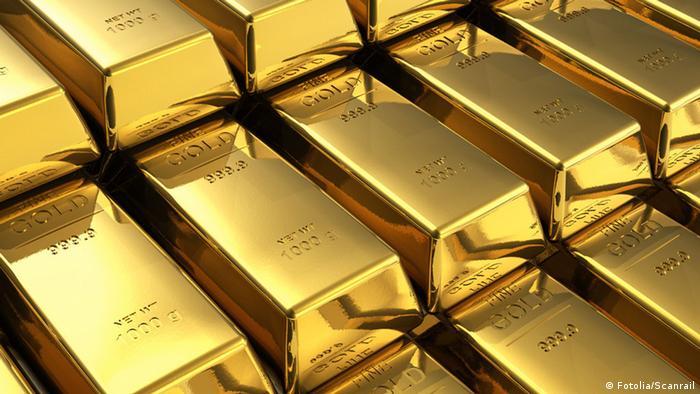 Symbolbild Goldpreis Gold Goldbarren