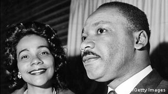 Martin Luther King mit Coretta Scott King (AFP/Getty Images)