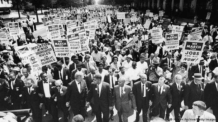 Марш на Вашингтон у 1963 році