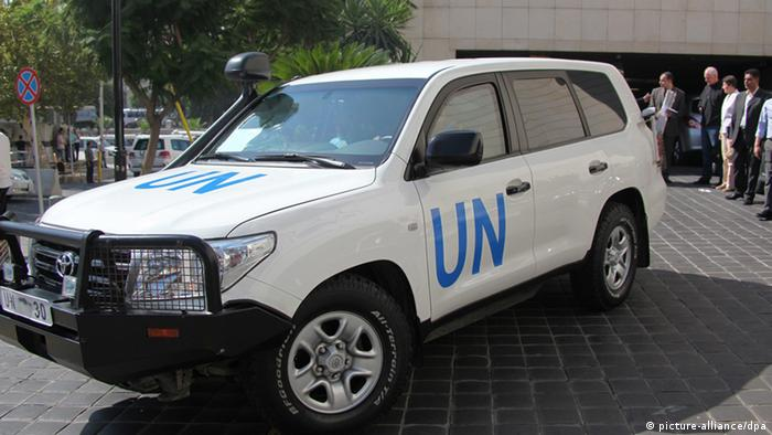 epa03839911 The UN inspectors_ team leaves the Four Seasons hotel in Damascus, Syria on 28 August 2013. The team, which put off inspections on Aug. 27, is likely to continue its mission in probing the alleged use of chemical weapons in the countryside of Damascus that claimed the lives of hundreds of Syrians. The U.N. team decided to put off inspections Tuesday _in order to improve preparedness and safety for the team,_ the world body said in a statement. The Syrian government, which denied the use of such weapons, announced a day earlier that it will defend itself with _all means available_ amid prospects of a U.S. military strike that would probably starts as early as Thursday. EPA/YOUSSEF BADAWI