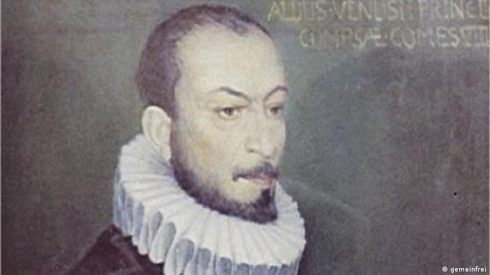 Description: Portrait of Carlo Gesualdo Date 16th century Source public domain Author Anonymous