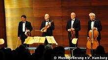 Musiker des Gewandhaus Quartetts Leipzig