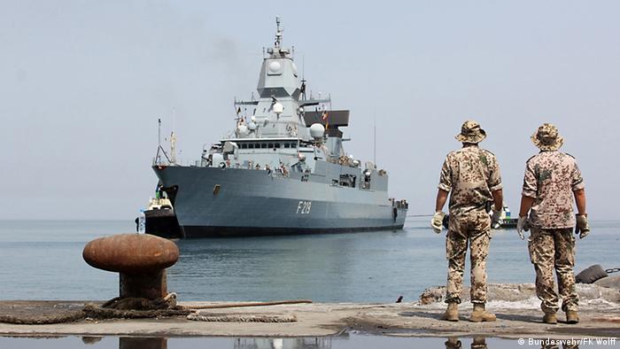 Operation Atalanta Marine Soldaten Einsatz gegen Piraterie
