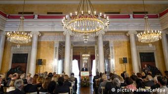 مدال گوته، در شهر وایمار آلمان به برندگان اهدا میشود.
