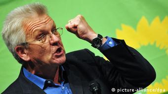 Винфрид Кречман - первый зеленый земельный премьер