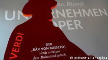 Ausstellung «Unternehmen Oper» in der Bertelsmann Hauptstadtrepräsentanz in Berlin