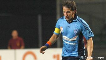 Alessandro Del Piero of Sydney FC in action August 7, 2013 in Padova, Italy. (Photo by Dino Panato/Getty Images)