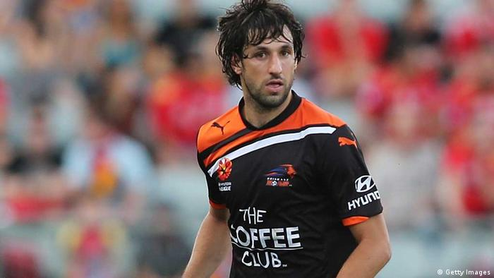 Thomas Broich in action with Brisbane Roar of Australia's A-League during the 2012-13 season. PHOTO: Morne de Klerk/Getty Images.
