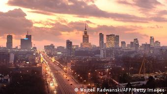 Warsaw skyline today (Photo: WOJTEK RADWANSKI/AFP/Getty Images)