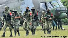 Kolumbien ELN Rebellen Guerilla