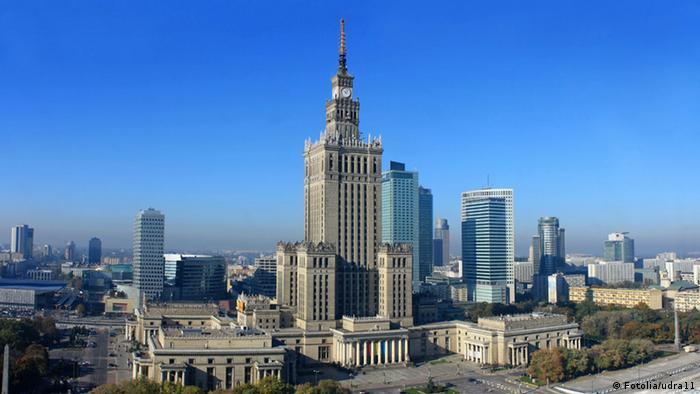 पोलैंड की राजधानी वारसा
