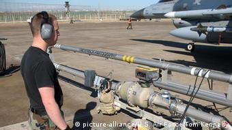 Auftanken einer F-16 Incirlik Air Base Türkei