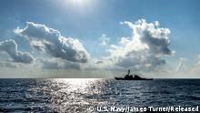 USS Barry USS Leyte Gulf US Navy Marine Kriegsschiff Mittelmeer