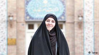 مرضیه افخم، سخنگوی وزارت خارجه در دولت روحانی