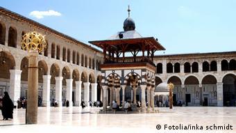 Weltkulturerbe Syrien Damaskus Umayyaden Moschee