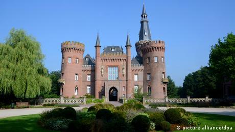Das Wasserschloss Schloss Moyland Bedburg Hau NRW Deutschland