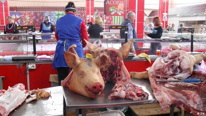 Мясной рынок в Беларуси